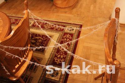 Как сплести паутину