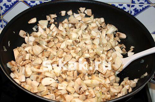 Рецепт жульена с грибами