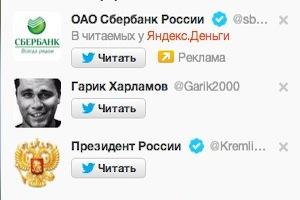 Популярные и известные люди в Твиттере