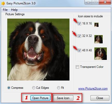 Как картинку сделать иконкой онлайн