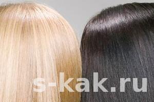Как покрасить волосы самой