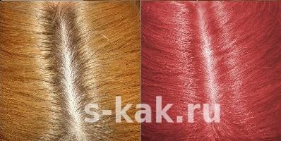Как покрасить самой волосы