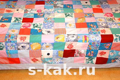 Как сшить лоскутное покрывало или одеяло