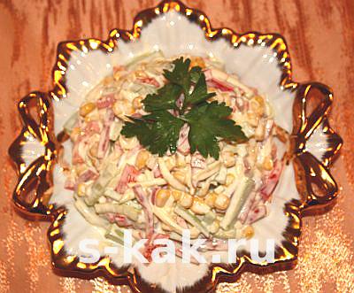 "Салат ""Венеция"" рецепт"