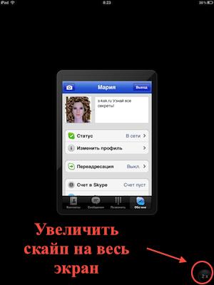 Как установить второй скайп на iPad