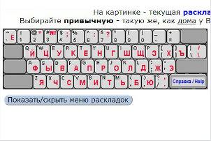 Как вводить кириллицу без русской клавиатуры
