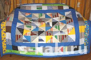 Как сшить лоскутное одеяло или покрывало