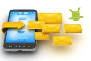 Как отправить смс группе в HTC Desire HD