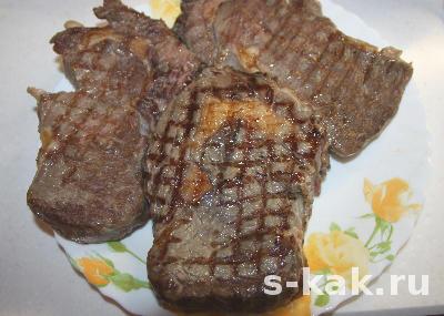 Как приготовить вкусный и правильный стейк