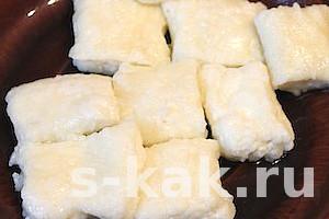Легкий рецепт ленивых вареников