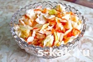 Как приготовить маринованный салат провансаль