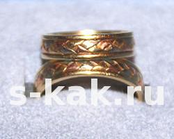 Обручальное кольцо какое выбрать
