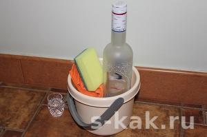 Как использовать водку в домашнем хозяйстве