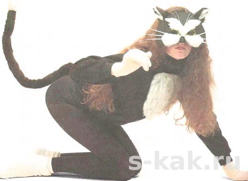 Как сделать костюм кошки или кота
