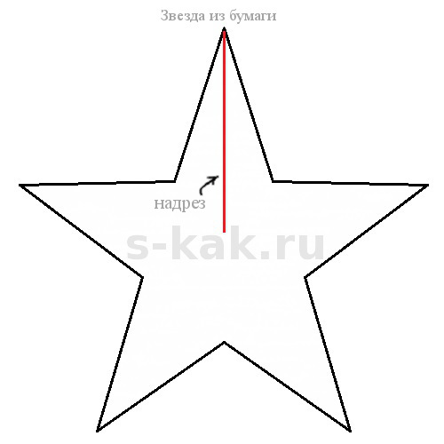 Как сделать объемную звезду из бумаги своими