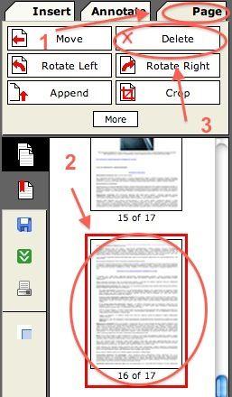 удалить страницу в PDF быстро с помощью интернета