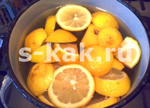 Лимонный компот