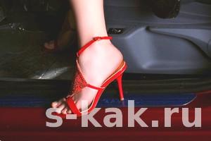 Как выбрать обувь женщине за рулем