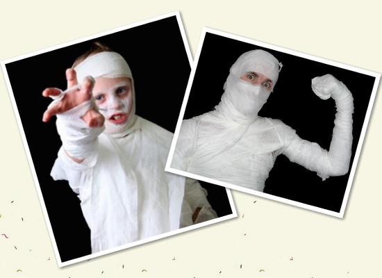 Как сделать костюм на Хэллоуин. Вариант3
