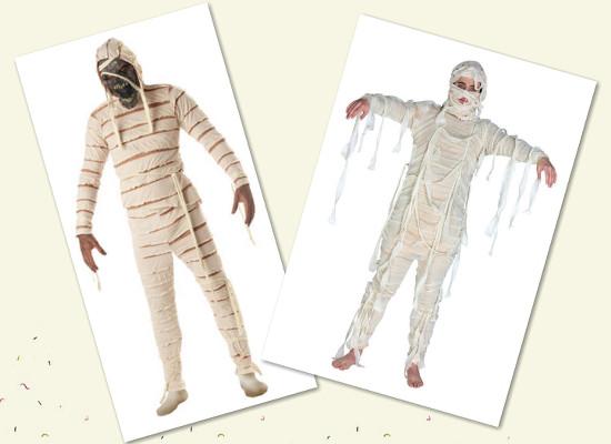 Как сделать костюм на Хэллоуин. Идея 1