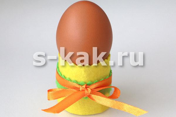 Подставка для пасхальных яиц своими руками