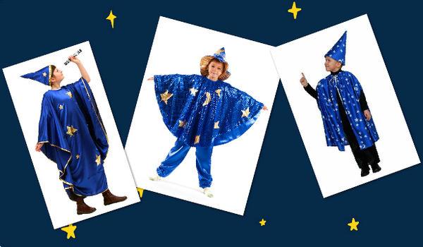 """Сделать костюм на Новый год """"Звездочет"""":"""