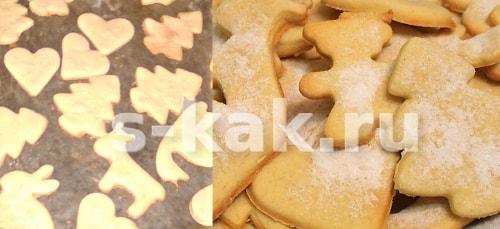 Быстрое домашнее печенье фото рецепт