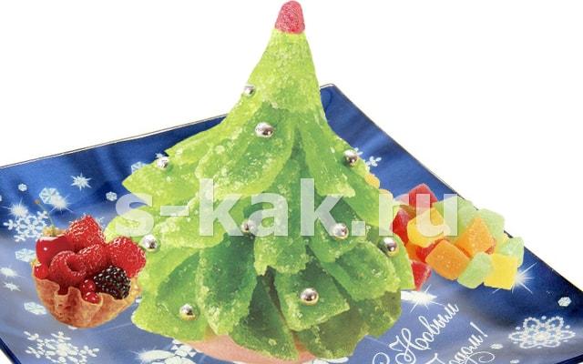 Сладкая новогодняя елочка
