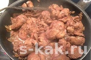 Как приготовить куриную печень