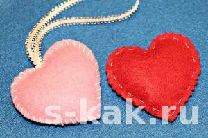 Как сшить сердечко. 3 варианта