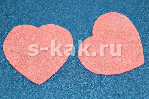 Вырезаем сердечки для валентинки