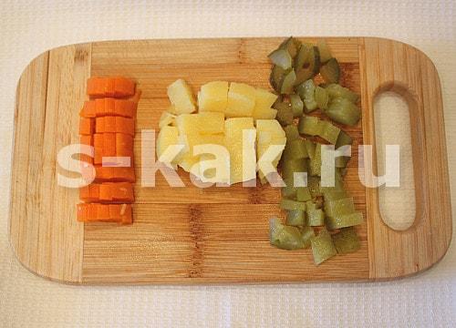 Как вкусно приготовить салат оливье