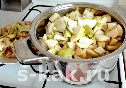 Рецепт домашнего мармелада из яблок. Фото 1