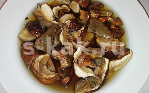 Грибной суп из сушеных белых грибов. Пошаговый рецепт с фото