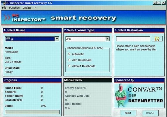 Восстановление данных с Micro SD. Шаг 1