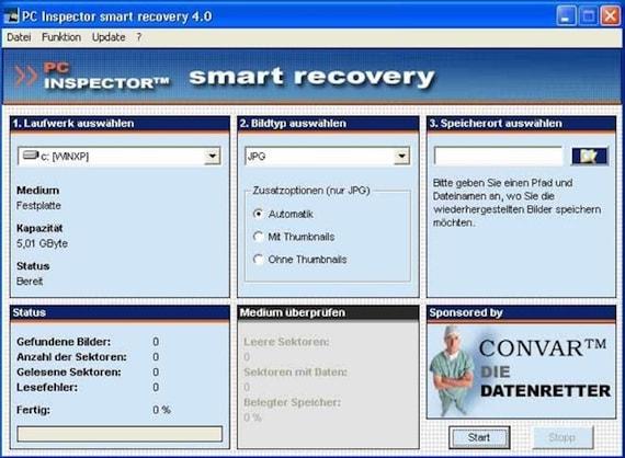 Восстановление данных с Micro SD. Шаг 2