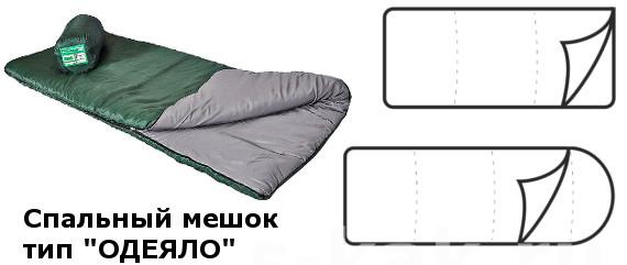 """Спальник Тип """"одеяло"""""""